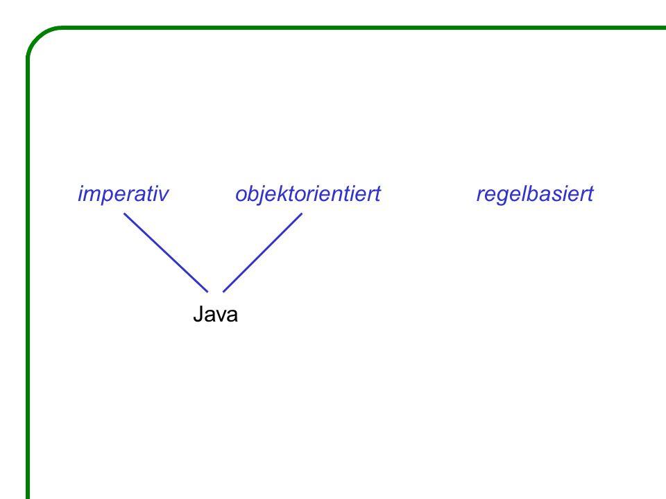 Eigenschaften der Sprache XL: Knoten der Graphen sind Java-Objekte, auch Geometrie-Objekte Regeln in Blöcken [...] organisierbar, Steuerung der Anwendung durch Kontrollstrukturen parallele Regelanwendung