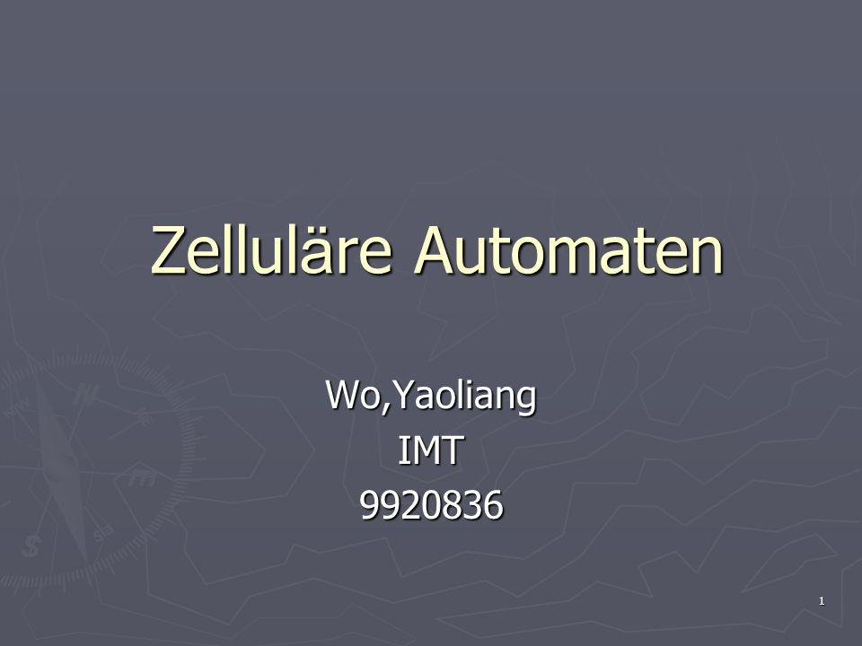 1 Zellul ä re Automaten Wo,YaoliangIMT9920836