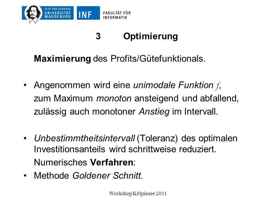 Danke für Ihre Aufmerksamkeit! Workshop Kölpinsee 2011