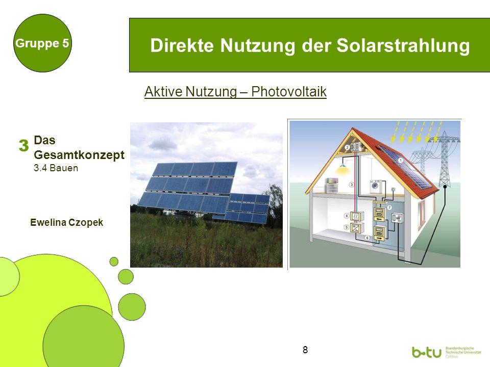 19 Biogasanlage Gruppe 5 Zum Vergleich: Durchschnittlicher Stromverbrauch Uni: 7.090 MWh/a Abschätzung der Potentiale sehr schwierig, da abhängig von: Substratqualität Anlagentyp Probleme: Kosten kontinuierlicher Substratstrom nötig Abfall- und Gärrestanalysen nötig enormes Forschungs- und Entwicklungspotential für Uni 3.139 MWh/a 3 3.5 Biogasanlage Marvin Gruhn Das Gesamtkonzept