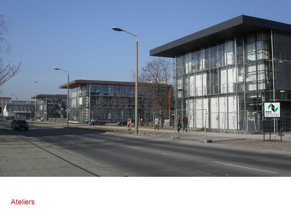Studiengang Architektur Prof. Bernd Huckriede Ateliers