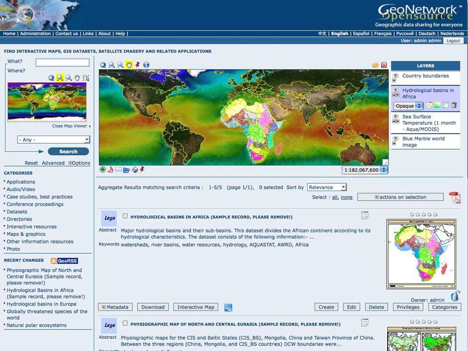 40 GEO NETWORK Lehrstuhl Ökosysteme und Umweltinformatik 03 · KAPITEL - GEO NETWORK 40