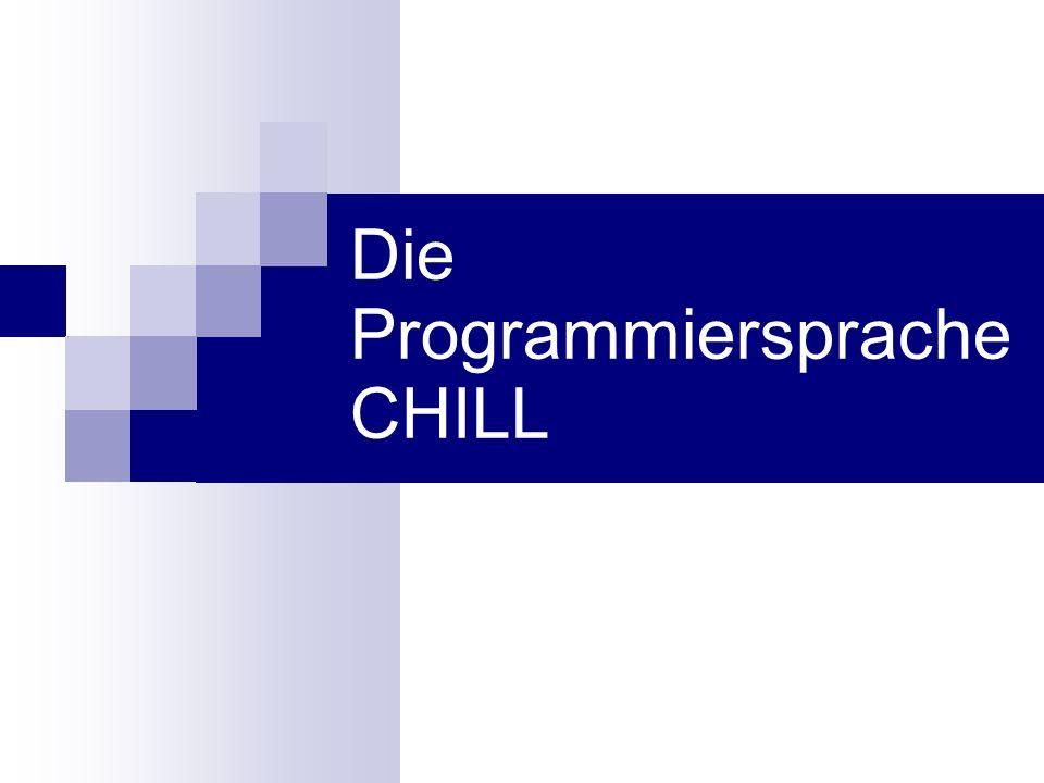 Die Programmiersprache CHILL