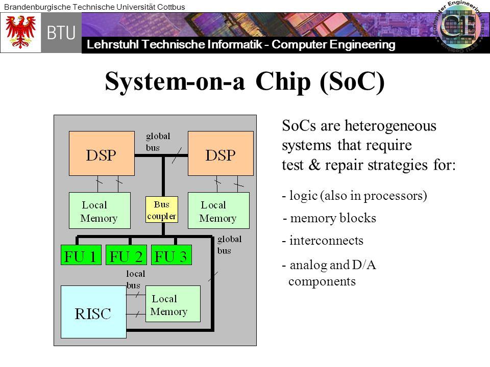 Lehrstuhl Technische Informatik - Computer Engineering Brandenburgische Technische Universität Cottbus Intels Scan Path Element plus Fault Compensation