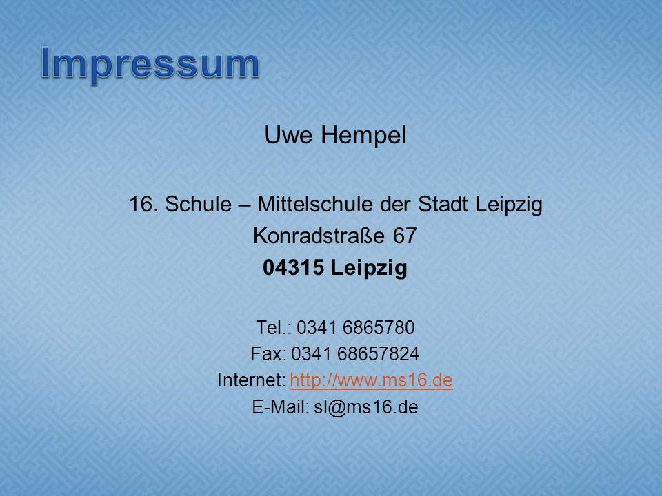 Uwe Hempel 16.