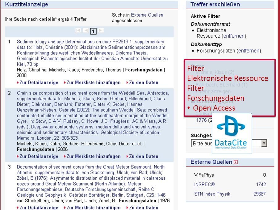15 GetInfo Filter Elektronische Ressource Filter Forschungsdaten Open Access Filter Elektronische Ressource Filter Forschungsdaten Open Access