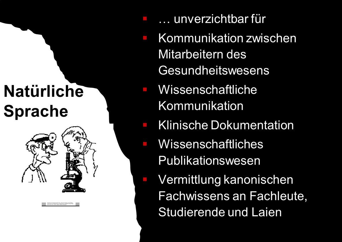 Herausforderung für medizinische Sprachverarbeitung Ambiguität Lexikalisch: Bruch (Hernie) vs.