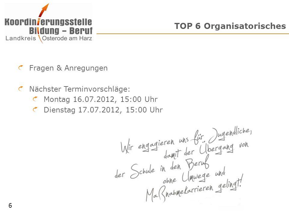 www.ruem-oha.de Vielen Dank für Ihr Interesse! Herzberger Straße 28b www.bildung-beruf-oha.de 7