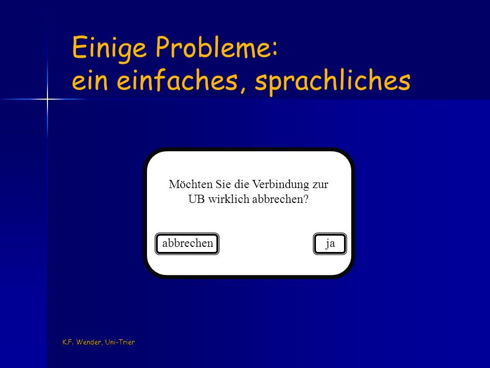 K.F.Wender, Uni-Trier Methoden Video Beobachtung psycho-physio.