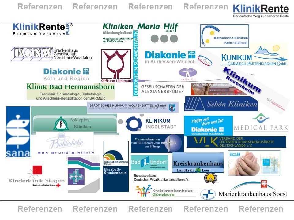 © KlinikRente 30 Referenzen Referenzen Referenzen Referenzen Referenzen Referenzen Referenzen Referenzen Referenzen