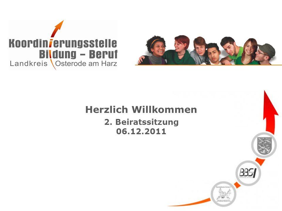 Herzlich Willkommen 2. Beiratssitzung 06.12.2011