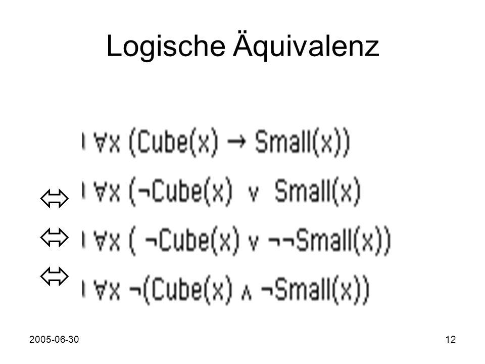 2005-06-3012 Logische Äquivalenz