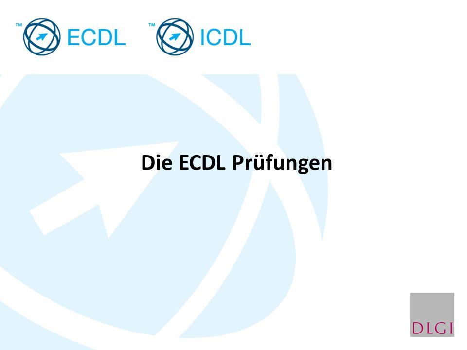 Die ECDL Prüfungen