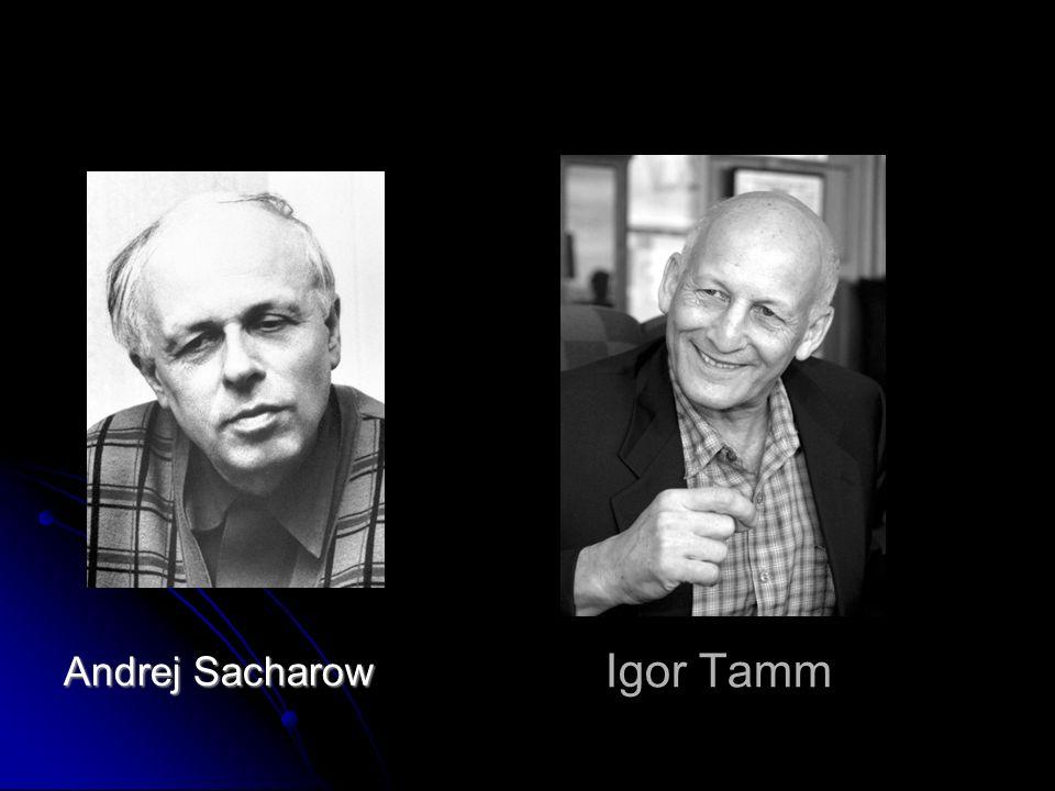 Igor Tamm Andrej Sacharow