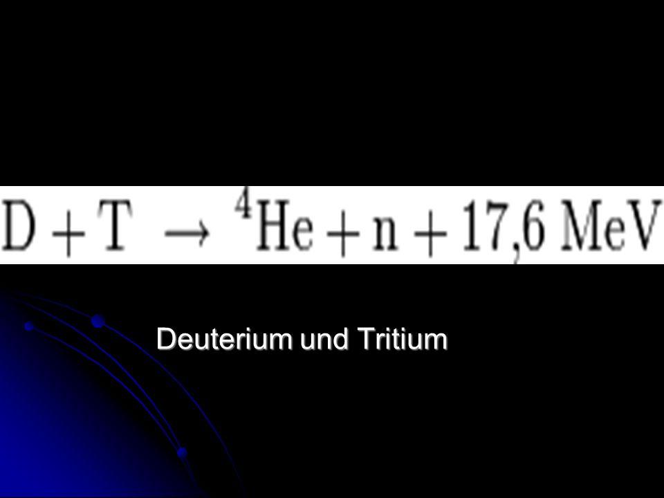 Deuterium und Tritium