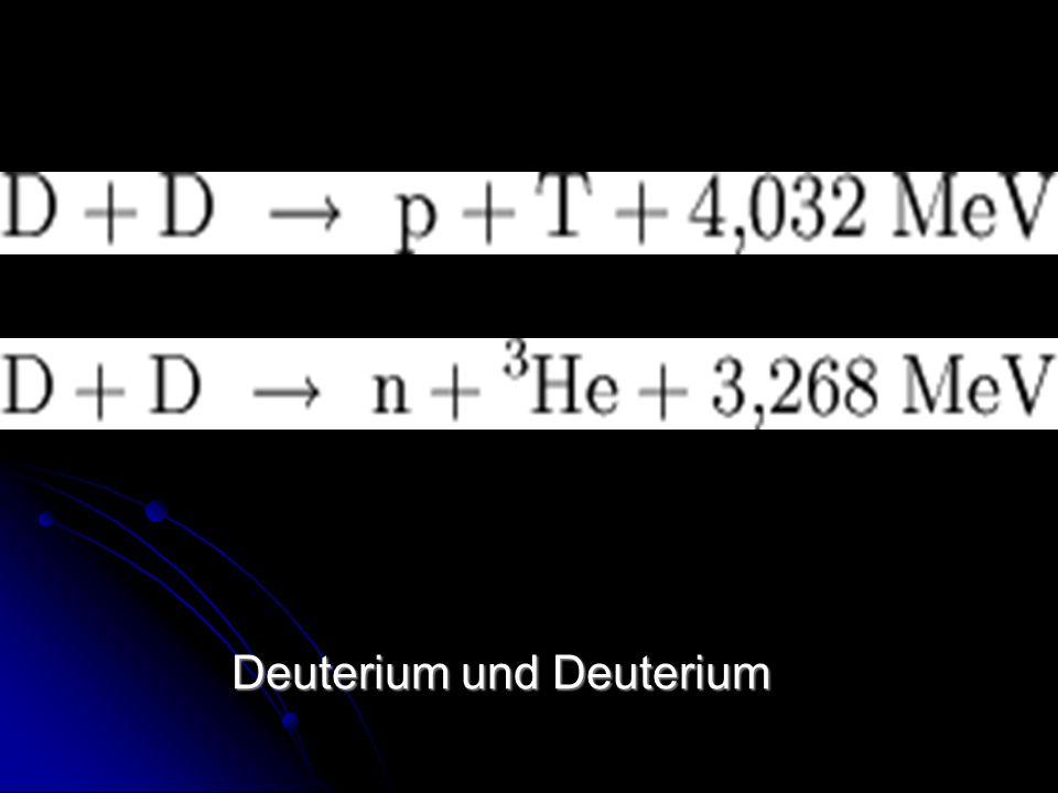 Deuterium und Deuterium