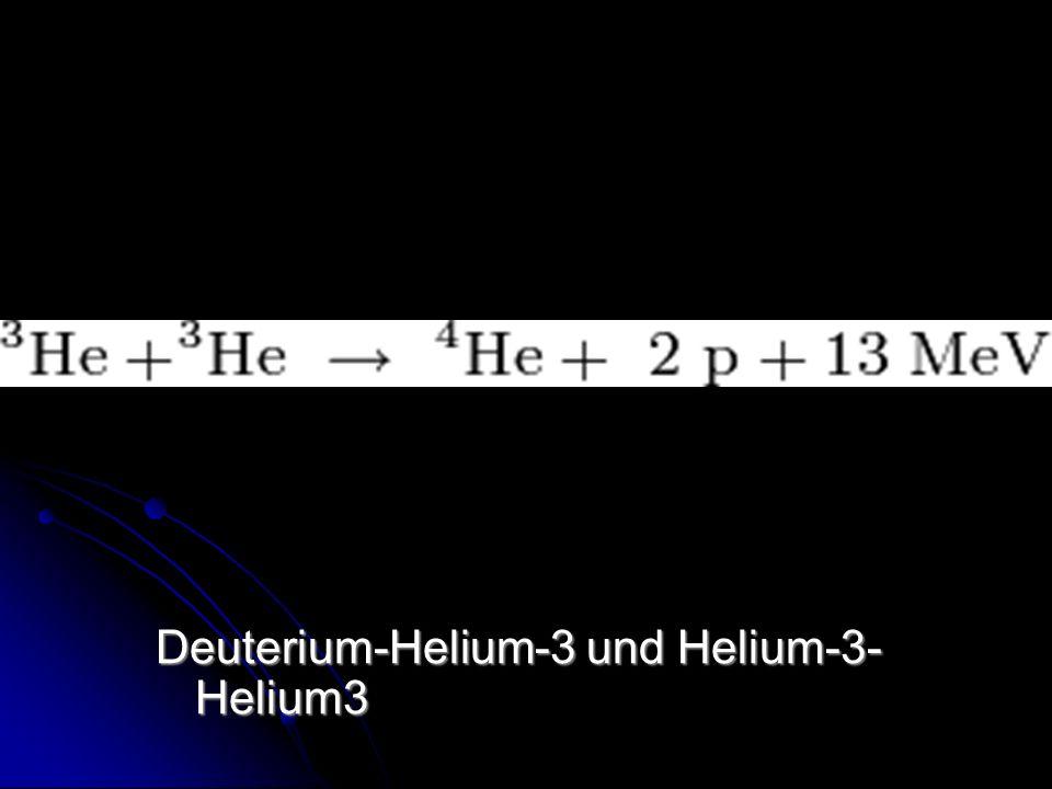 Deuterium-Helium-3 und Helium-3- Helium3