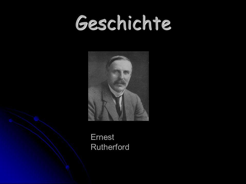 Geschichte Ernest Rutherford