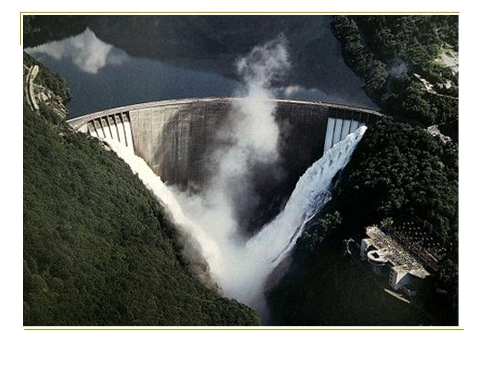 Nutzung der Gezeiten o Gezeitenkraftwerke (Nutzung der Wasserkraft von Ebbe und Flut)