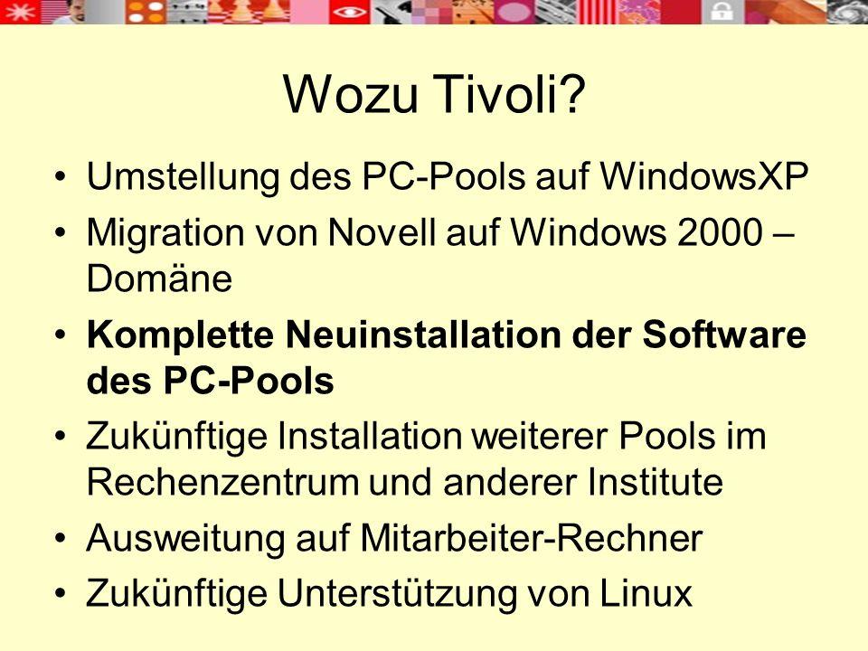Kontrolle der Softwareverteilung