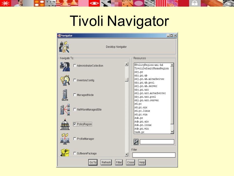 Tivoli Navigator