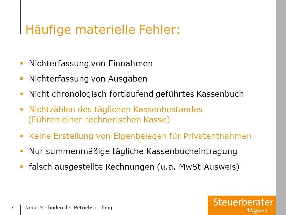 Neue Methoden der Betriebsprüfung 48 BenfordAnalyse – 2.