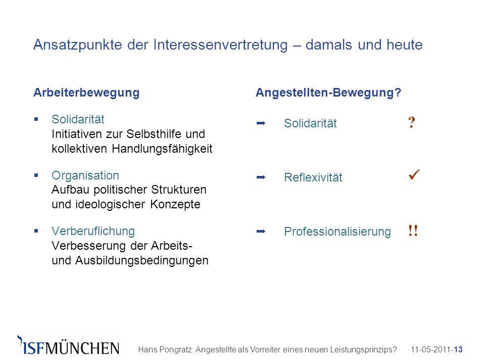 11-05-2011-13Hans Pongratz: Angestellte als Vorreiter eines neuen Leistungsprinzips? Ansatzpunkte der Interessenvertretung – damals und heute Arbeiter