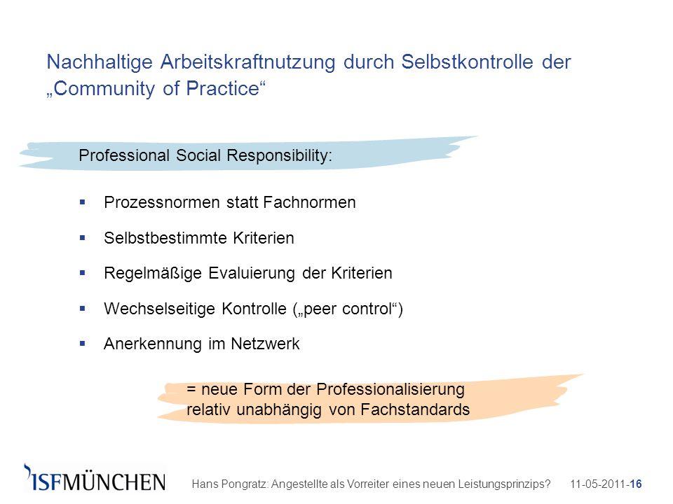 11-05-2011-16Hans Pongratz: Angestellte als Vorreiter eines neuen Leistungsprinzips? Nachhaltige Arbeitskraftnutzung durch Selbstkontrolle der Communi