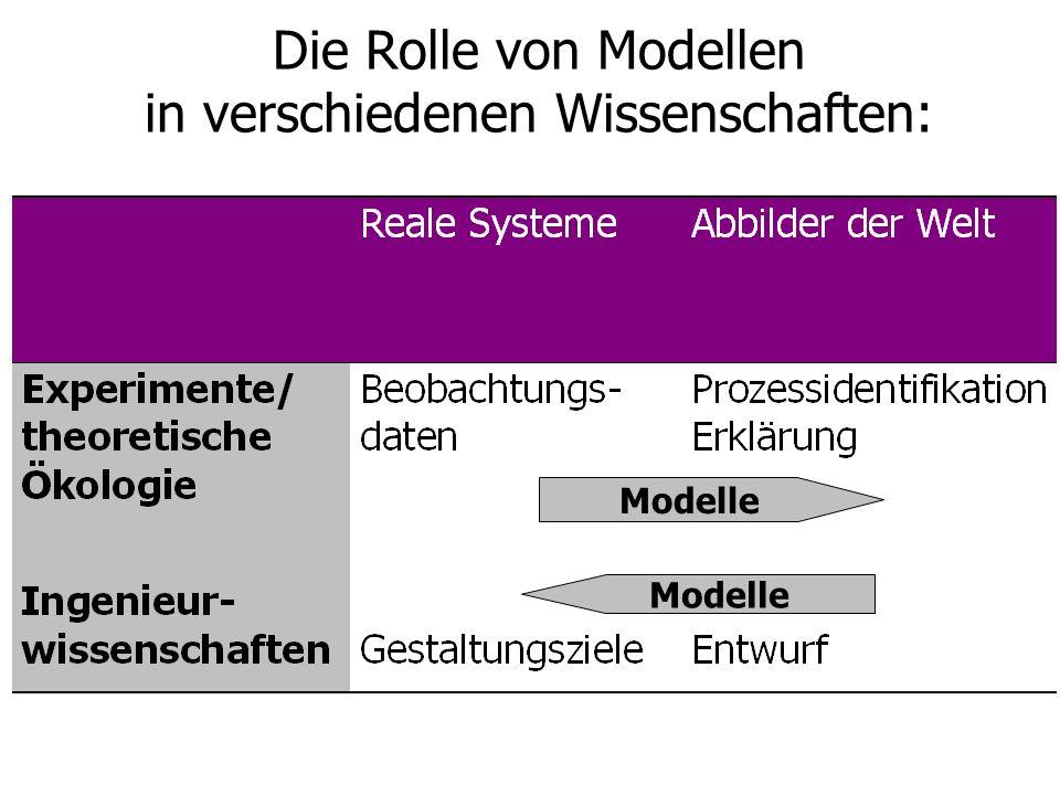 Modelle Die Rolle von Modellen in verschiedenen Wissenschaften: