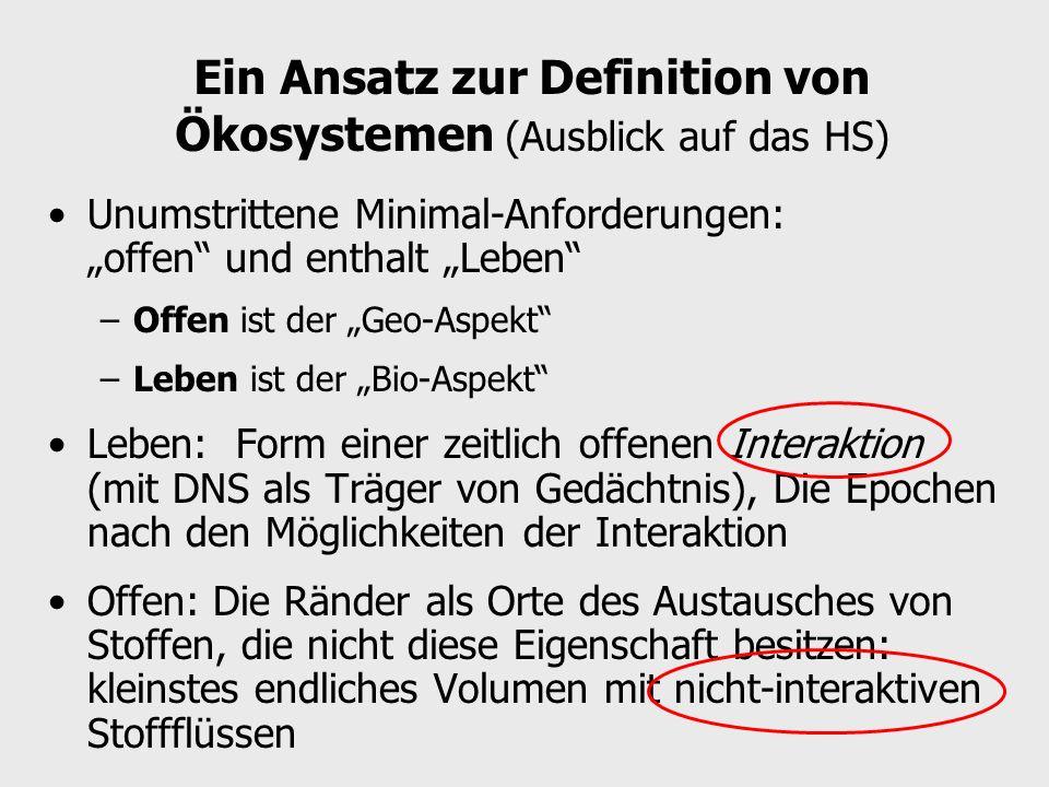 Bedeutung/ Verwendung Explizit, definiertErklärungsprinzip I.
