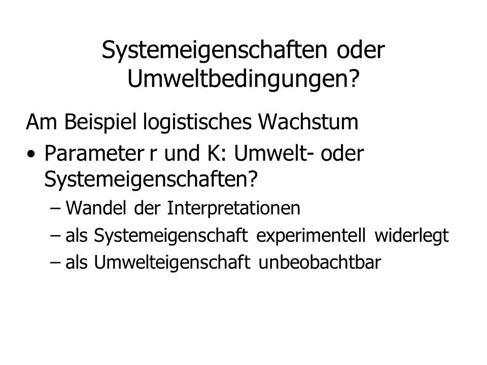 Prinzipielle Fragestellungen Stationäre Punkte / Gleichgewichte Stabilität (in GG-Nähe) Qualitatives Verhalten: regulär/periodisch/chaotisch ?