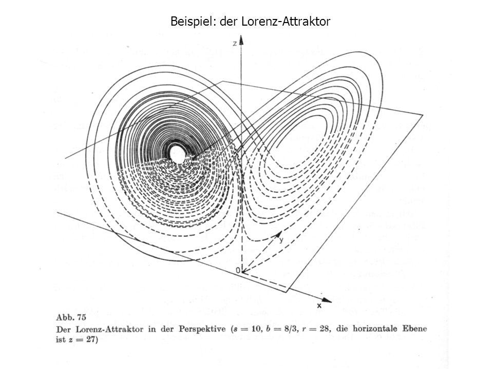 Beispiel: der Lorenz-Attraktor