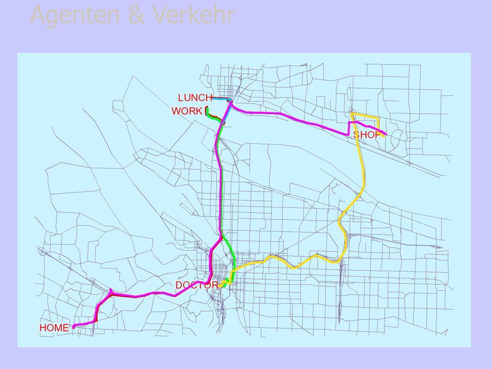 Verkehrsmittel- & Routenwahl Agenten & Verkehr