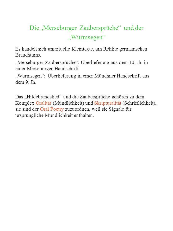 Bibelepik Heliand (Heiland) anonymer Autor, zwischen 830 und 850 in Altsächsisch im Auftrag Kaiser Ludwigs des Frommen verfasst Gattung: Evangelienharmonie (urspr.
