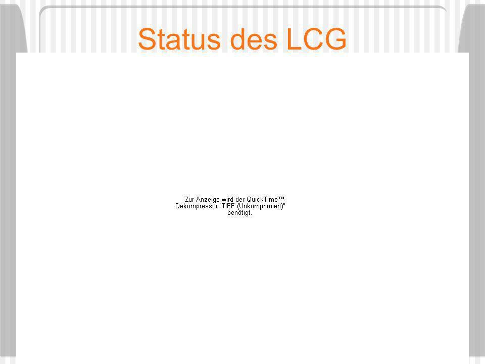 Status des LCG