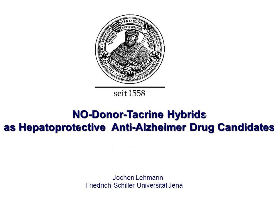 NO-Donor-Tacrine Hybrids as Hepatoprotective Anti-Alzheimer Drug Candidates - - Jochen Lehmann Friedrich-Schiller-Universität Jena --