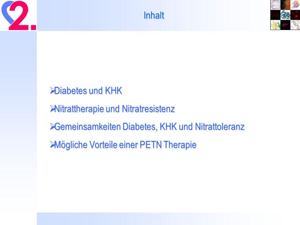 Mögliche Vorteile einer PETN Therapie