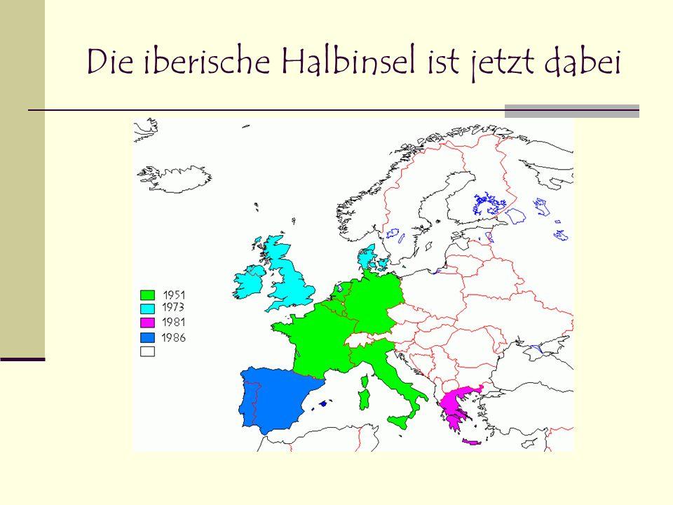 Die ehemaligen EFTA – Staaten treten ein
