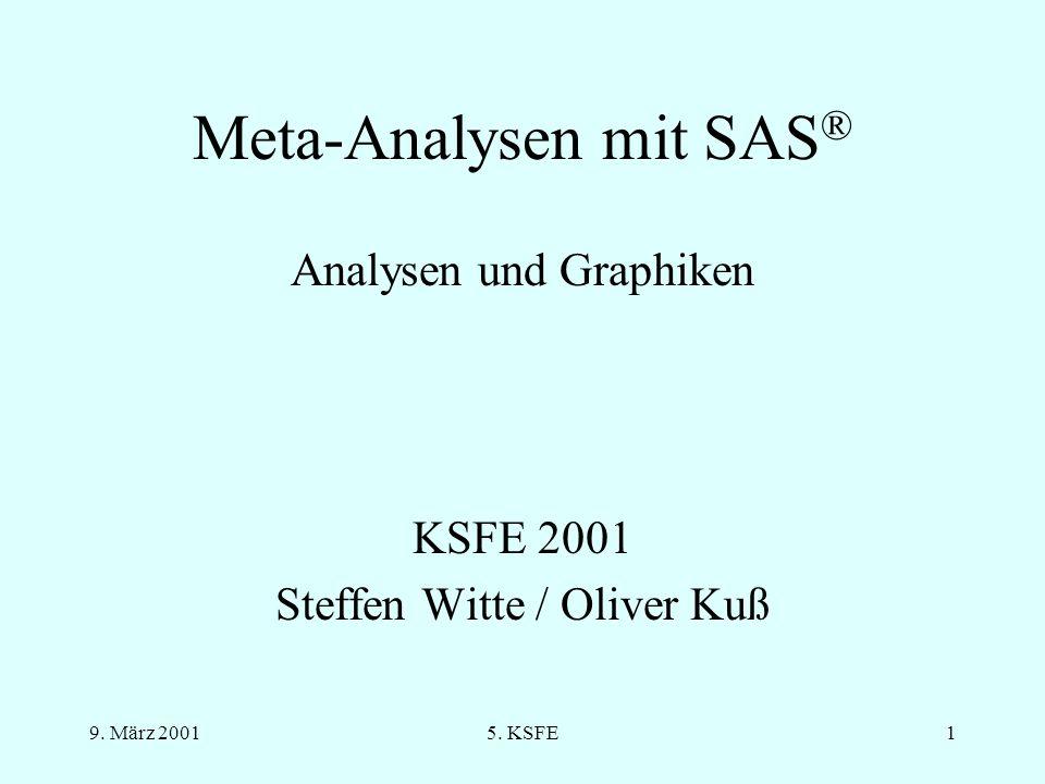 9. März 20015. KSFE21 Funnelplot (I)