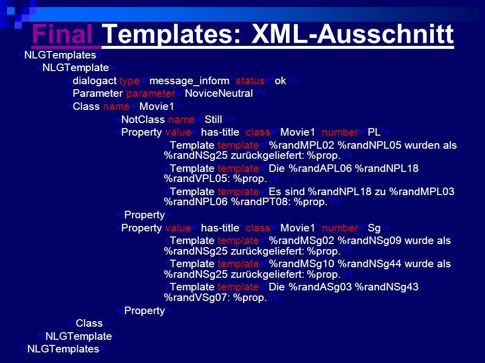 Final Final Templates: XML-Ausschnitt