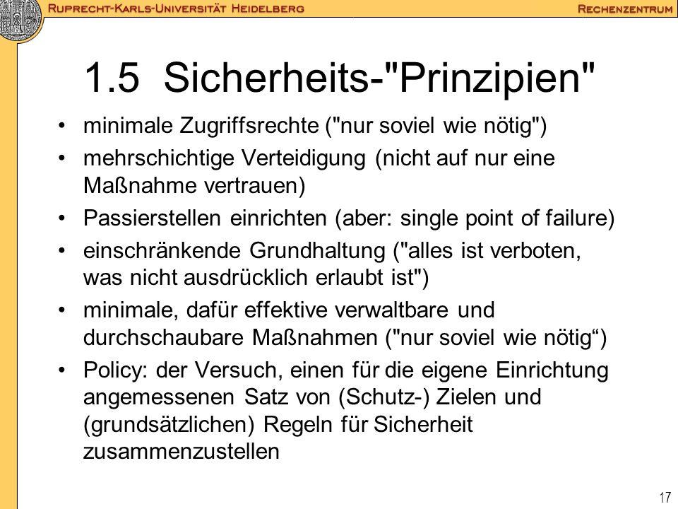 17 1.5 Sicherheits-