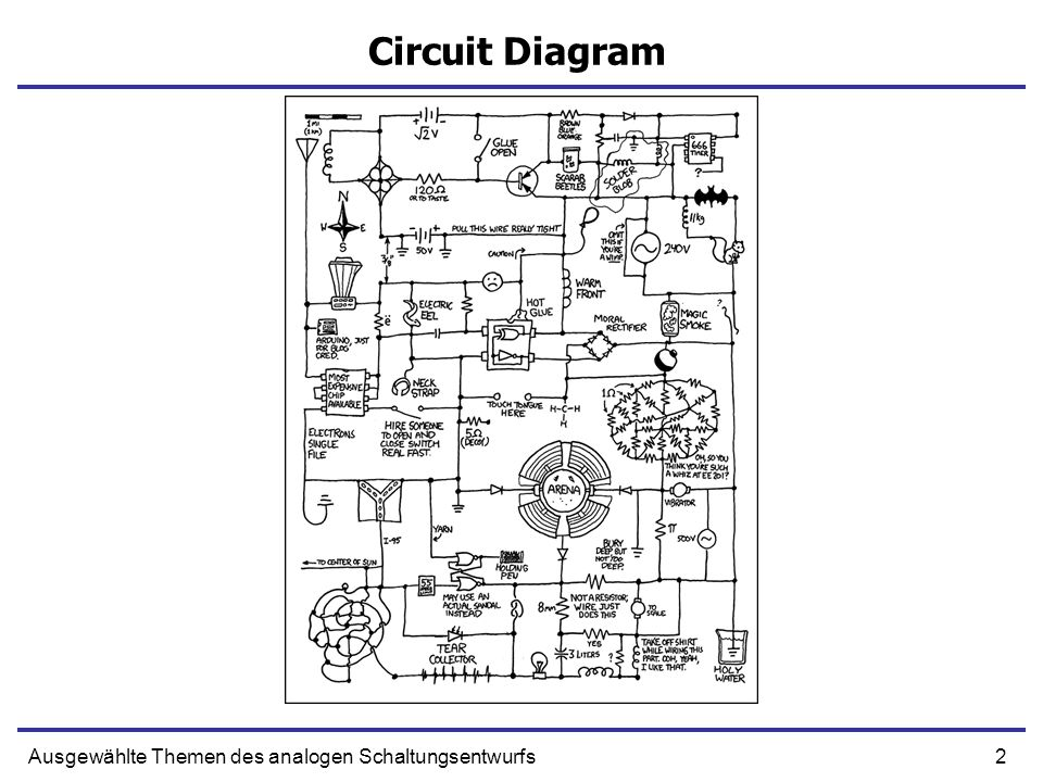 2Ausgewählte Themen des analogen Schaltungsentwurfs Circuit Diagram