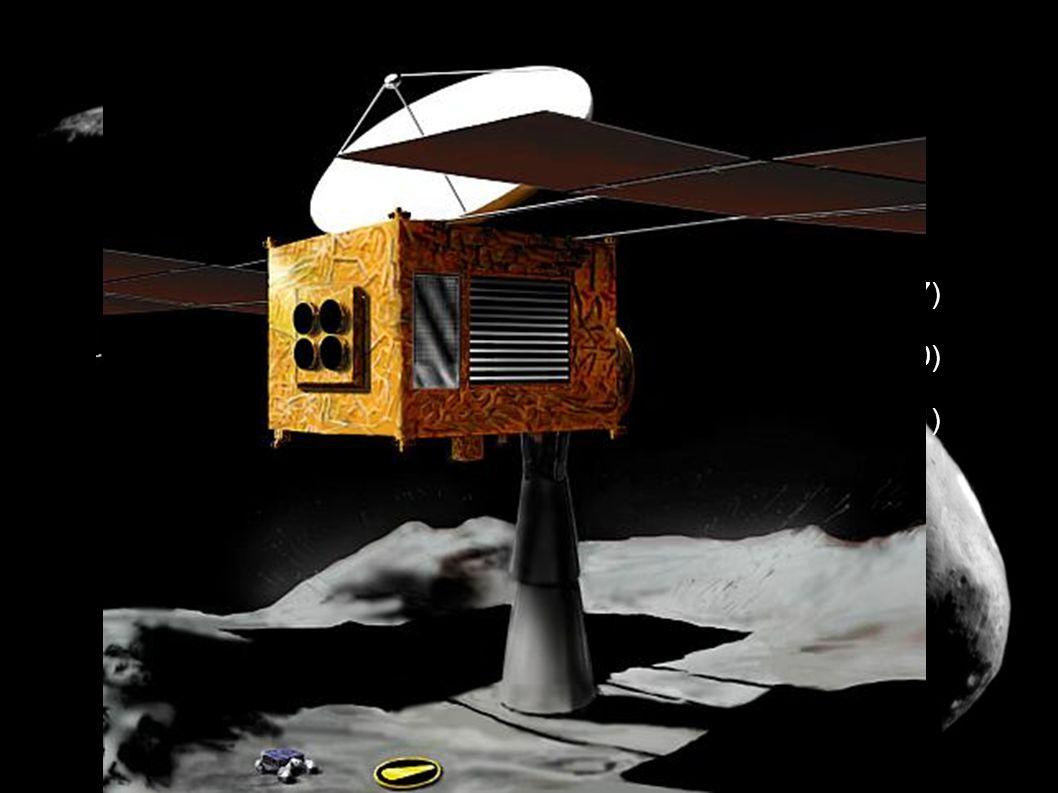 Missionen zu Asteroiden NEAR - Launch: 17.02.1996 - Vorbeiflug:Mathilde (27.10.1997) - Orbiteintritt:Eros(14.02.2000) - Landung:Eros(12.02.2001) Galil