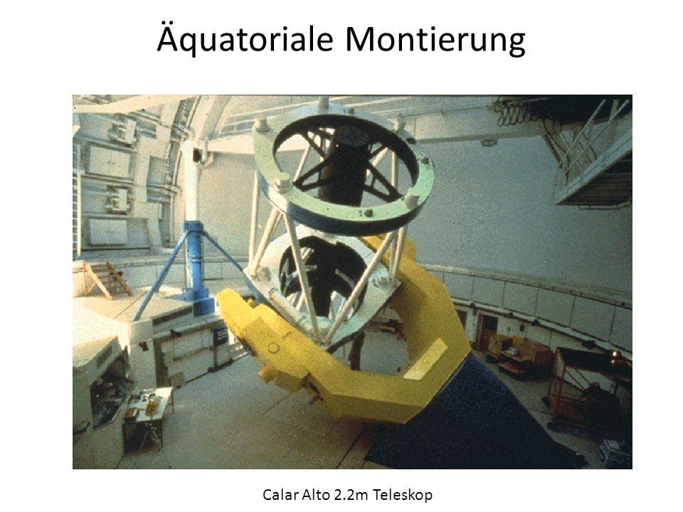 Äquatoriale Montierung Calar Alto 2.2m Teleskop
