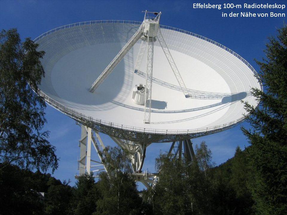 Effelsberg 100-m Radioteleskop in der Nähe von Bonn
