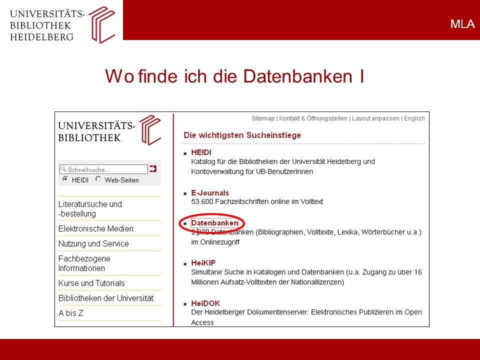 Universitätsbibliothek Heidelberg Teaching Team Plöck 107-109 69117 Heidelberg www.ub.uni-heidelberg.de schulung@ub.uni-heidelberg.de Tel: 06221/54 - 2390 Kontakt