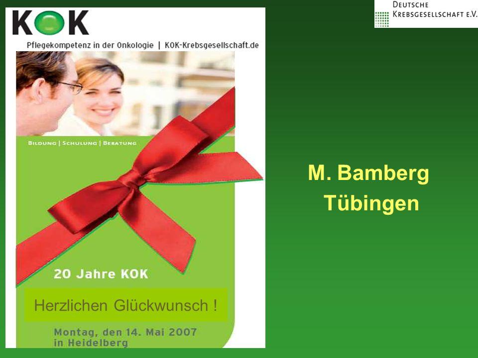 M. Bamberg Tübingen Herzlichen Glückwunsch !