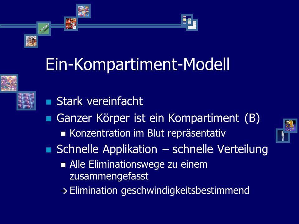 Ein-Kompartiment-Modell B U keke D =