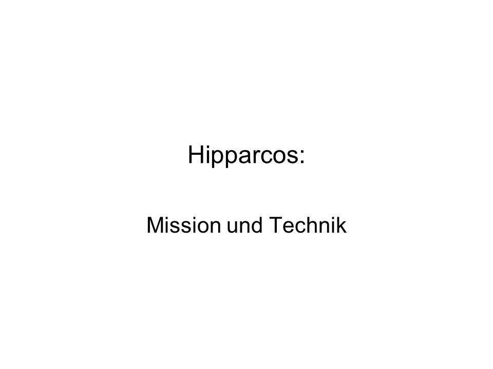 Hipparcos: Mission und Technik