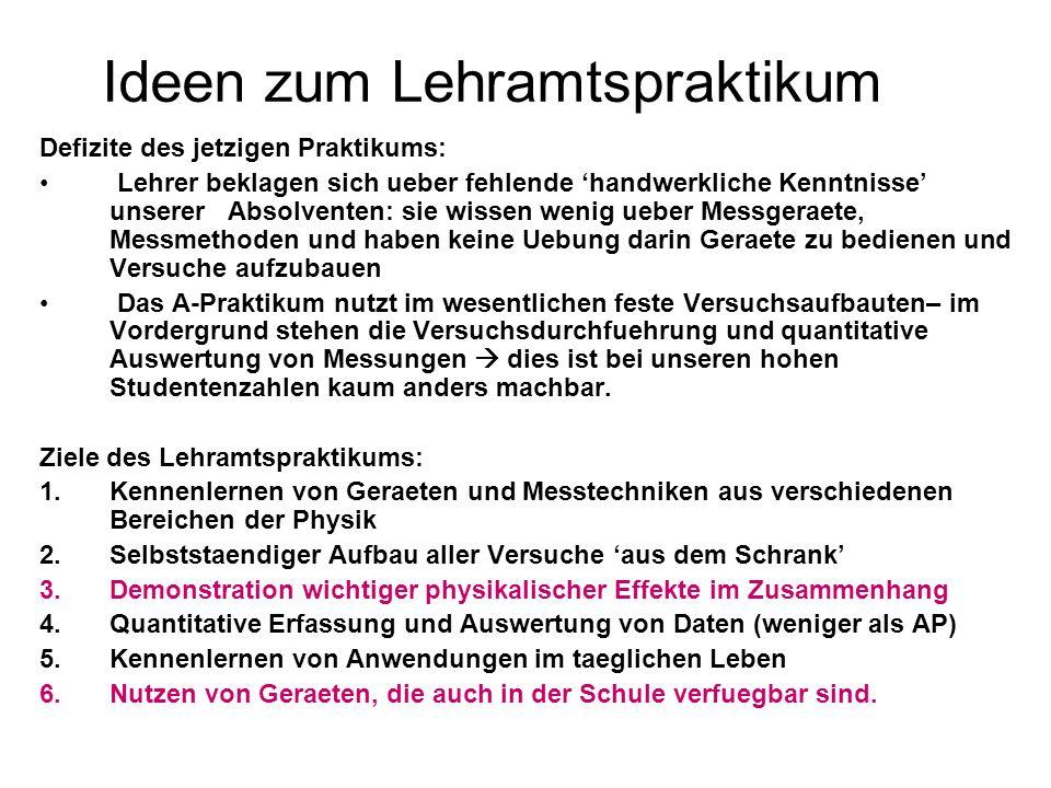 Kommission Physiklehrerausbildung des MWK 2 Mitglieder aus HD: Prof.